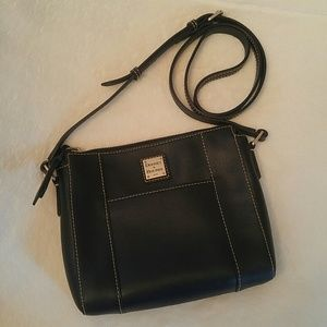 Dooney Saffiano leather Lexington crossbody